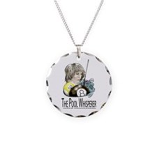 The Pool Whisperer Necklace Circle Charm