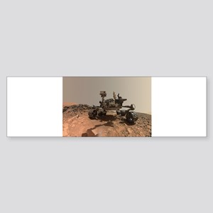 Mars Rover Curiosity Selfie Bumper Sticker