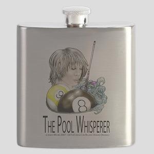 The Pool Whisperer Flask