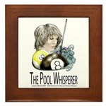 The Pool Whisperer Framed Tile