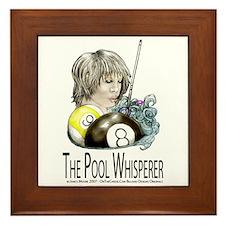 The Pool Whisperer Framed Tile