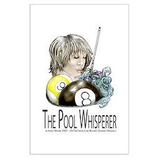 The Pool Whisperer Large Poster