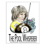 The Pool Whisperer Small Poster