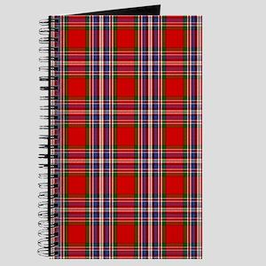 MacFarlane Red Scottish Clan Tartan Journal