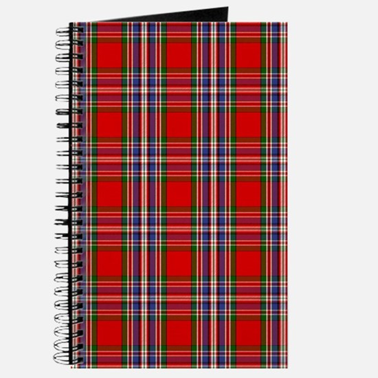 MacFarlane Red Scottish Clan Tartan Journal