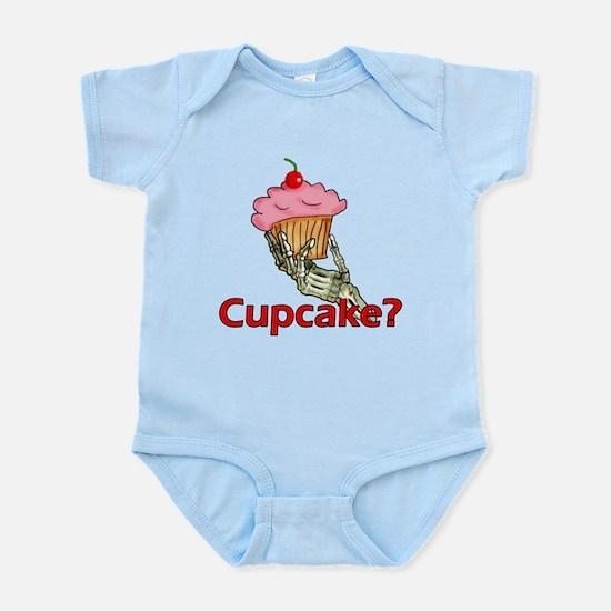 Skeleton Hand Cupcake Infant Bodysuit