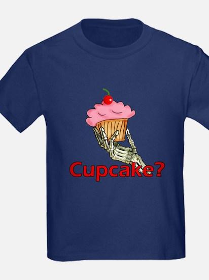 Skeleton Hand Cupcake T