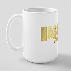 Nashville-TN-GLD Large Mug