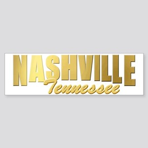Nashville-TN-GLD Sticker (Bumper)