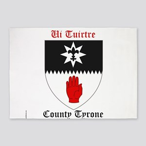 Ui Tuirtre - County Tyrone 5'x7'Area Rug