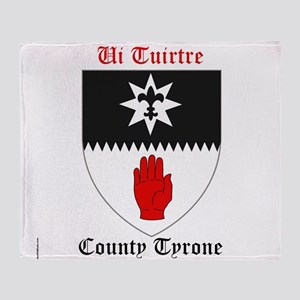 Ui Tuirtre - County Tyrone Throw Blanket