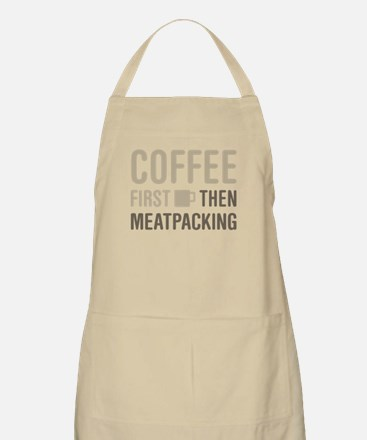 Coffee Then Meatpacking Apron