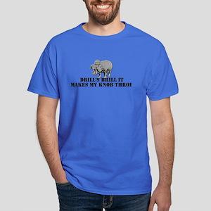 US Marines drill Dark T-Shirt