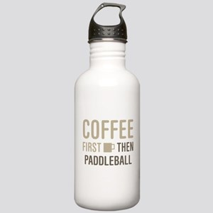 Coffee Then Paddleball Stainless Water Bottle 1.0L