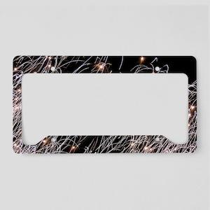 Fireworks License Plate Holder