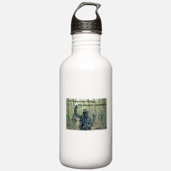 It's a Survival Thing Water Bottle