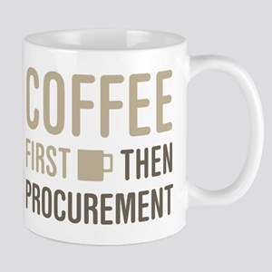 Coffee Then Procurement Mugs