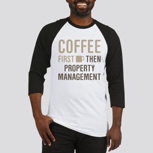 Coffee Then Property Management Baseball Jersey
