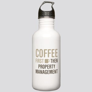 Coffee Then Property M Stainless Water Bottle 1.0L