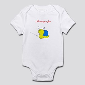 Snail Fun Infant Bodysuit