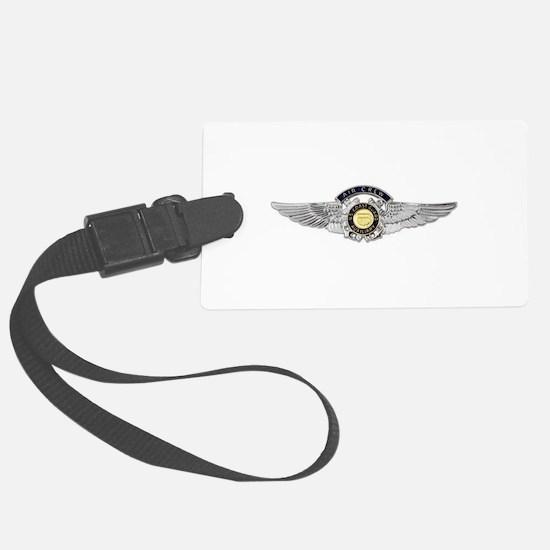 USCG Air Crew Badge Luggage Tag