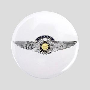 USCG Air Crew Badge Button
