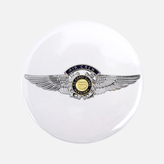 USCG Air Crew Badge Button