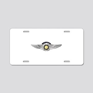 USCG Air Crew Badge Aluminum License Plate