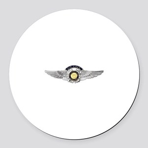 USCG Air Crew Badge Round Car Magnet
