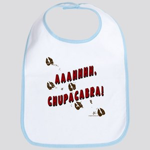 Ahh, chupacabra! Goat sucker Bib