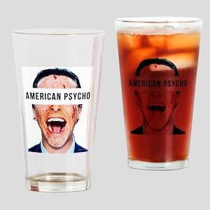 American psycho Drinking Glass