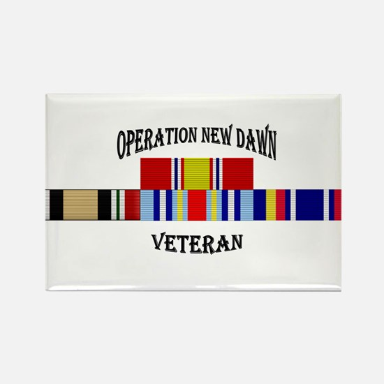 Operation New Dawn Ribbons Magnets