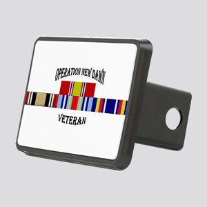 Operation New Dawn Ribbons Rectangular Hitch Cover