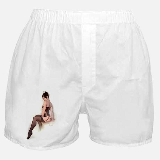 Funny Pin up Boxer Shorts