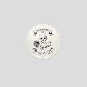 Hardcore Omnivore Mini Button