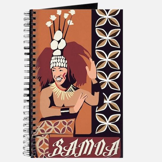 Samoan Dance Taupou Journal