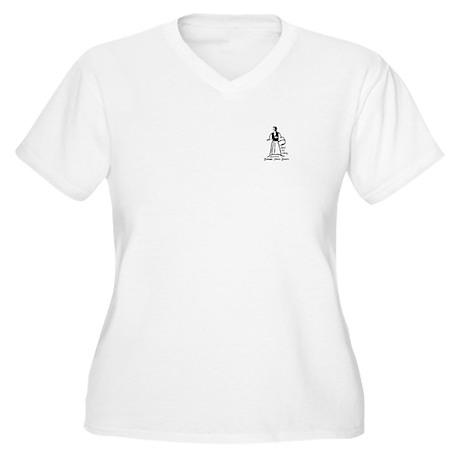 Ingeborg Plus Size V-Neck T-Shirt