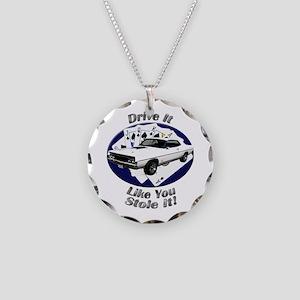 Ford Torino Cobra Necklace Circle Charm