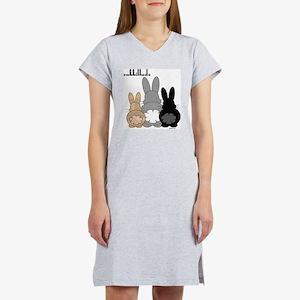 Rabbittude Posse Women's Nightshirt