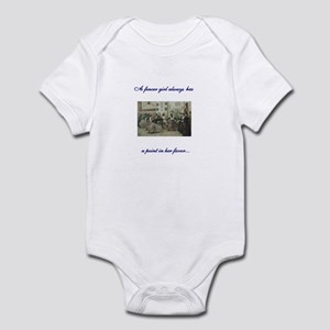 Ladies Fencing Infant Bodysuit