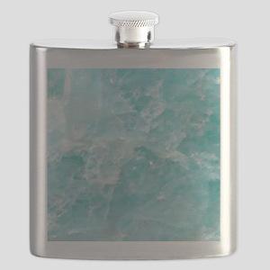 Blue-Agate-Art-Design Flask