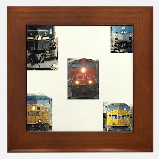 RailFans Framed Tile