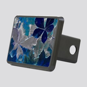Fallen Leaves Abstract Rectangular Hitch Cover