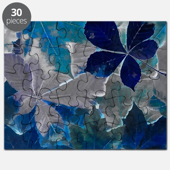 Fallen Leaves Abstract Puzzle
