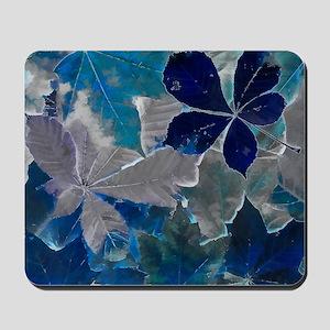 Fallen Leaves Abstract Mousepad