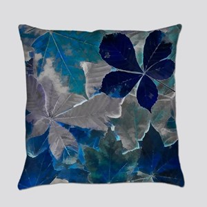 Fallen Leaves Abstract Everyday Pillow