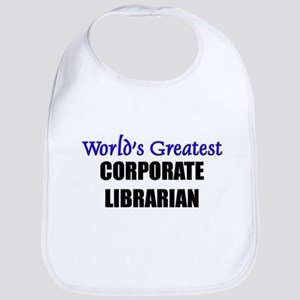 Worlds Greatest CORPORATE LIBRARIAN Bib