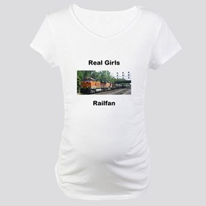 RailFans Maternity T-Shirt