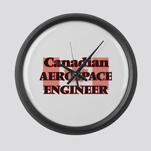 Canadian Aerospace Engineer Large Wall Clock