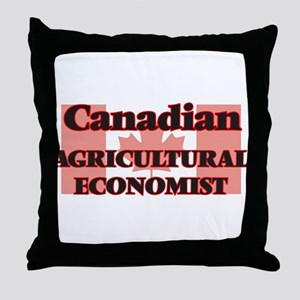 Canadian Agricultural Economist Throw Pillow